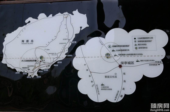 龙湾·雨林谷位置图