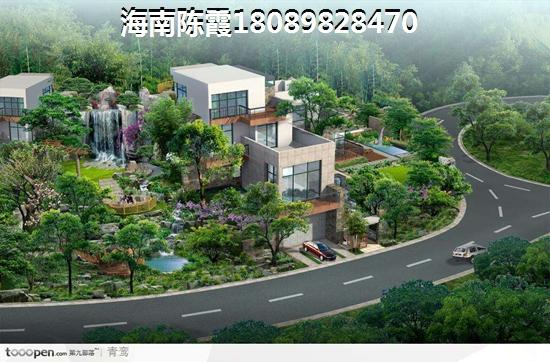 国厦·海澜湾规划图